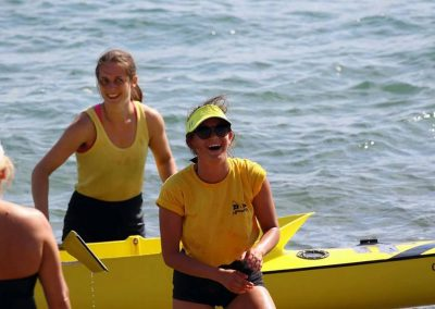 Maddie & Ana win double sculls